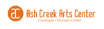 Ash Creek Arts Center Logo and Business Card