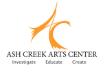 Ash Creek Arts Center Logo and Business Card by Stacey Roten
