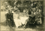 Butler Family Dines with Friends