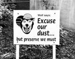 Wolf Signage