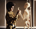 Skeleton Examination by Public Information Office, Western Oregon State College