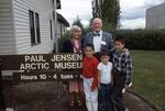 Dr. Paul Jensen at Jensen Arctic Museum