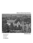 Western Oregon University 2005-2006 Course Catalog