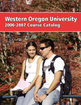 Western Oregon University 2006-2007 Course Catalog