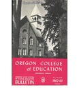 Oregon College of Education 1962-1963 Course Catalog