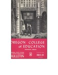 Oregon College of Education 1964-1965 Course Catalog