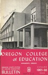Oregon College of Education 1965-1966 Course Catalog by Oregon College of Education
