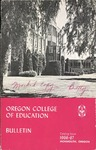 Oregon College of Education 1966-1967 Course Catalog