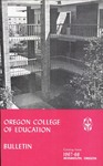 Oregon College of Education 1967-1968 Course Catalog