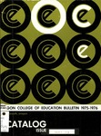 Oregon College of Education 1975-1976 Course Catalog
