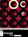 Oregon College of Education 1977-1978 Course Catalog