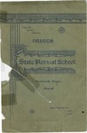 Oregon State Normal School 1894-1895 Course Catalog
