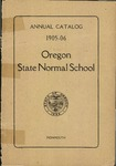 Oregon State Normal School 1905-1906 Course Catalog