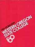 Western Oregon State College 1981-1982 Course Catalog by Western Oregon State College