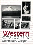 Western Oregon State College 1986-1987 Course Catalog by Western Oregon State College