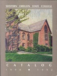 Western Oregon State College 1990-1992 Course Catalog by Western Oregon State College