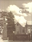 Western Oregon State College 1994-1995 Course Catalog by Western Oregon State College