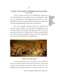 Chapter 06 - Voltaire: An Example of Enlightenment Censorship