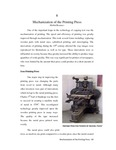 Chapter 08 - Mechanization of the Printing Press