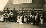 May Day Queen and Students