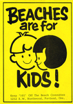 Beaches are for Kids! sticker