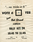 Vote Yes on 6 Rally Flyer