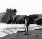 Bob Straub Walks Along Oregon Coast