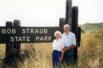 Bob and Pat Straub at Bob Straub State Park