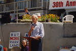 Bob Straub Speaks at Beach Bill Anniversary Event