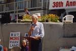 Bob Straub Speaks at Beach Bill Anniversary Event