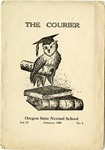 The Courier, 1909-02 by Oregon State Normal School